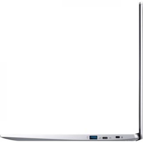 "Acer 315 15.6"" Chromebook Intel Celeron N4020 4GB RAM 32GB EMMC Pure Silver   Intel Celeron N4020 Dual Core   Intel UHD Graphics 600   Built In Webcam & Microphone   Chrome OS   12.5 Hr Battery Life Left/500"