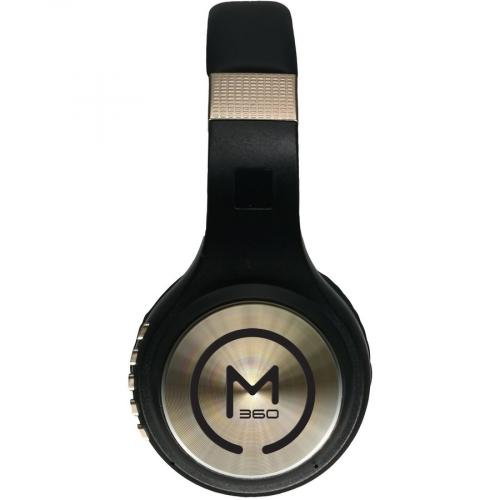 Morpheus 360 Serenity Wireless Over The Ear Headphones   Bluetooth 5.0 Headset With Microphone   HP5500G Left/500