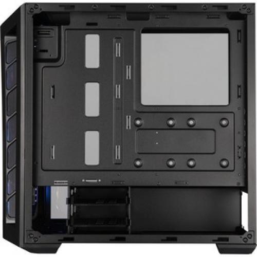 Cooler Master MasterBox MB511 ARGB Computer Case Left/500