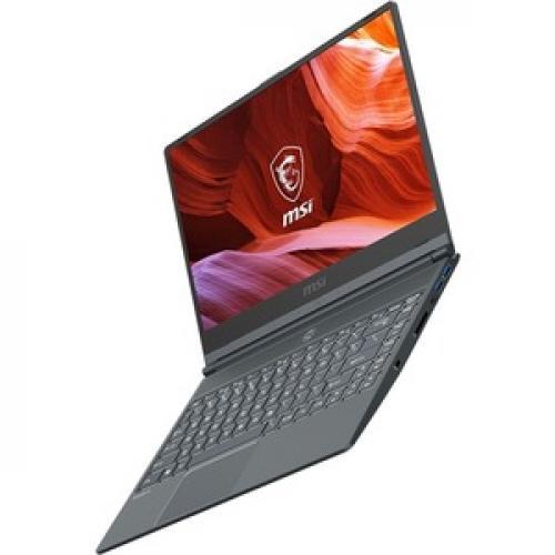 "MSI Modern 14 14"" Laptop Intel Core I5 10210U 8GB RAM 512GB SSD MX330 2GB   10th Gen I5 10210U Quad Core   NVIDIA GeForce MX330 2GB   In Plane Switching (IPS) Technology   Windows 10   9 Hr Battery Life Left/500"