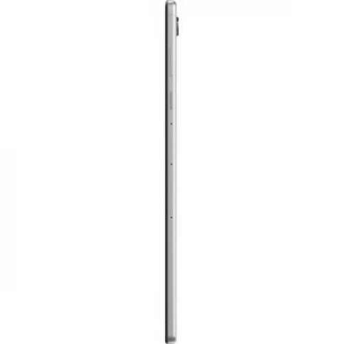 "Lenovo Smart Tab M10 TB X606FA ZA6M0007US Tablet   10.3"" WUXGA   4 GB RAM   128 GB Storage   Android 9.0 Pie   Platinum Gray Left/500"