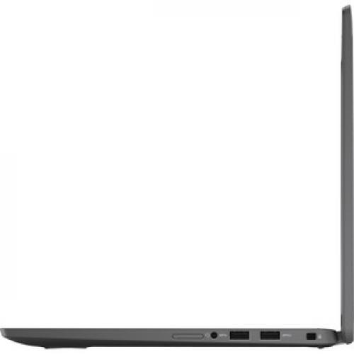 """Dell Latitude 7000 7410 14"""" Touchscreen 2 In 1 Notebook   Full HD   1920 X 1080   Intel Core I7 (10th Gen) I7 10610U Quad Core (4 Core) 1.80 GHz   16 GB RAM   256 GB SSD   Aluminum Titan Gray Left/500"""