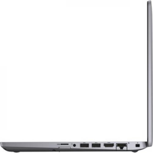 """Dell Latitude 5000 5410 14"""" Touchscreen Notebook   Full HD   1920 X 1080   Intel Core I7 (10th Gen) I7 10610U Quad Core (4 Core) 1.80 GHz   16 GB RAM   512 GB SSD   Gray Left/500"""