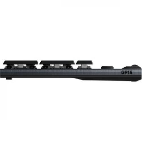 Logitech G915 TKL Tenkeyless Lightspeed Wireless RGB Mechanical Gaming Keyboard Left/500
