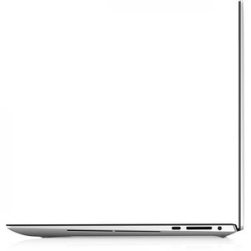 """Dell XPS 15 9500 15.6"""" Touchscreen Notebook   3840 X 2400   Intel Core I7 (10th Gen) I7 10750H Hexa Core (6 Core)   32 GB RAM   1 TB SSD   Platinum Silver, Carbon Fiber Black Left/500"""