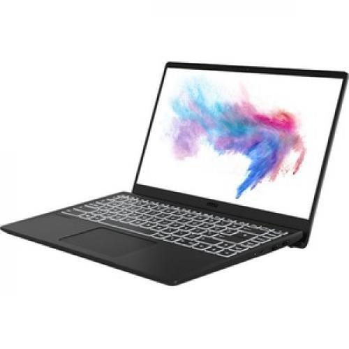 "MSI Modern 14   B10R Modern 14 B10RASW 079 14"" Gaming Notebook   Full HD   1920 X 1080   Intel Core I5 (10th Gen) I5 10210U 1.60 GHz   8 GB RAM   512 GB SSD   Onyx Black Left/500"