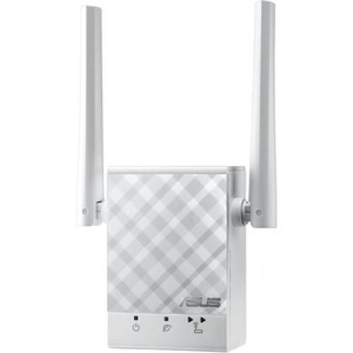 Asus RP AC51 IEEE 802.11ac 750 Mbit/s Wireless Range Extender Left/500