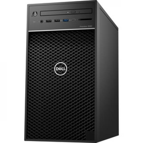 Dell Precision 3000 3640 Workstation   Core I7 I7 10700   16 GB RAM   512 GB SSD   Tower Left/500