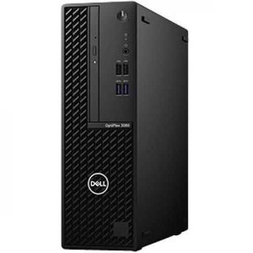 Dell OptiPlex 3000 3080 Desktop Computer   Intel Core I3 10th Gen I3 10100 Quad Core (4 Core) 3.60 GHz   8 GB RAM DDR4 SDRAM   128 GB SSD   Small Form Factor Left/500