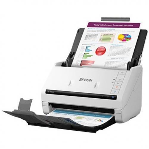 Epson DS 770 II Large Format Sheetfed Scanner   600 Dpi Optical Left/500
