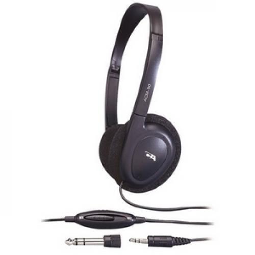 Cyber Acoustics ACM 90b PC/Audio Stereo Headphone Left/500