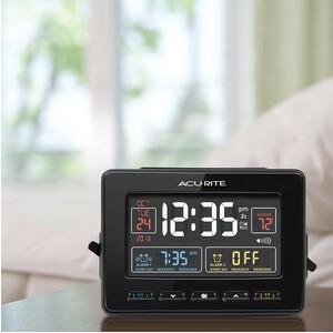 AcuRite Atomic Dual Alarm Clock Life-Style