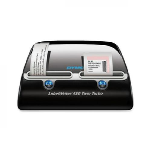 Dymo LabelWriter Direct Thermal Printer   Monochrome   Platinum   Label Print   USB Life-Style/500