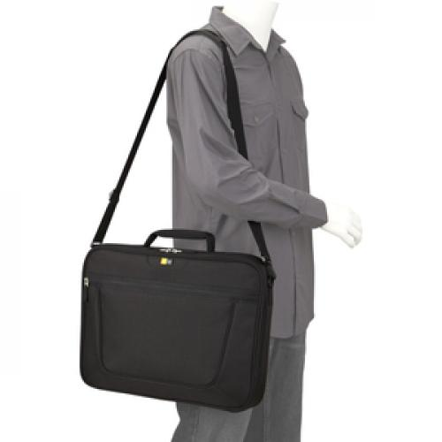 """Case Logic VNCI 217 Carrying Case (Briefcase) For 17"""" To 17.3"""" Notebook   Black Life-Style/500"""