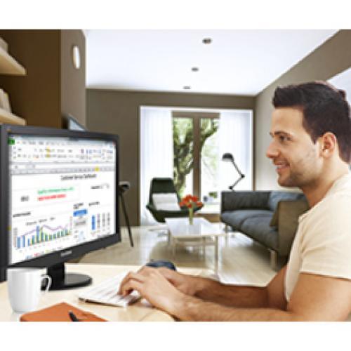 """Viewsonic Value VA2055Sa 20"""" Full HD LED LCD Monitor   16:9 Life-Style/500"""