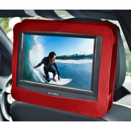 "Ematic EPD116 Portable DVD Player   10"" Display   1024 X 600   Red Life-Style/500"