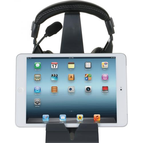 Allsop Headset Hangout, Universal Headphone Stand & Tablet Holder   (31661) Life-Style/500