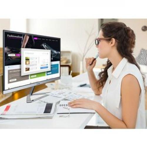 "Viewsonic VX2776 Smhd 27"" Full HD LED LCD Monitor   16:9   Black, Silver Life-Style/500"