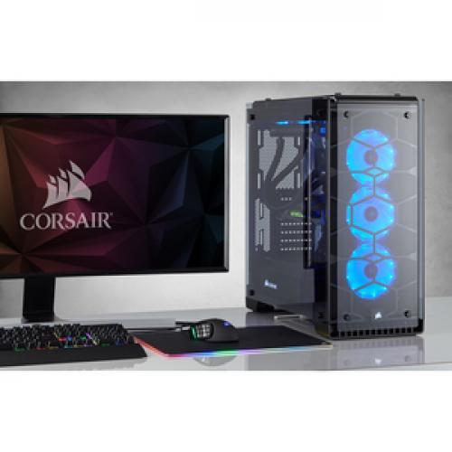 Corsair Crystal Series 570X RGB ATX Mid Tower Case Life-Style/500