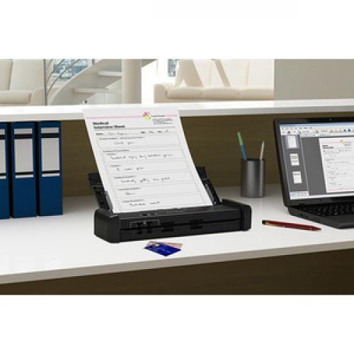 Epson DS 320 Sheetfed Scanner   600 Dpi Optical Life-Style/500