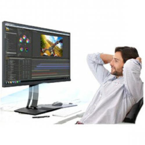 "Viewsonic VP2785 4K 27"" 4K UHD WLED LCD Monitor   16:9   Black Life-Style/500"