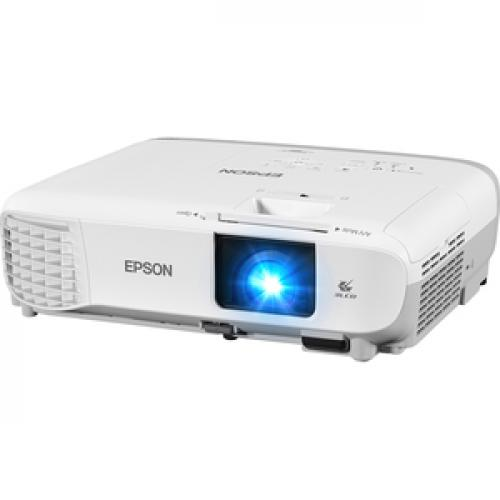 Epson PowerLite 107 LCD Projector   White, Gray Life-Style/500
