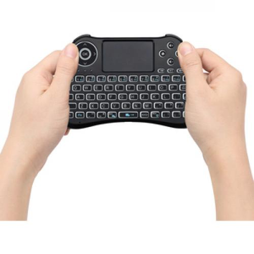 Adesso SlimTouch 4040   Wireless Illuminated Keyboard With Built In Touchpad Life-Style/500