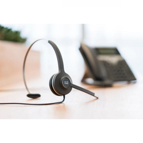 Cisco Headset 531 (Wired Single With Quick Disconnect Coiled RJ Headset Cable) Life-Style/500