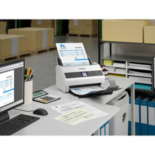 Epson WorkForce DS 970 Sheetfed Scanner   600 Dpi Optical Life-Style/500