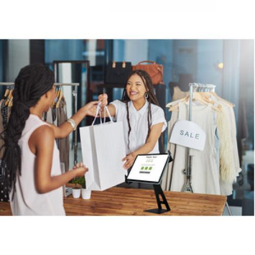 CTA Digital Angle Adjustable Locking Desktop Stand For 7 14 Inch Tablets Life-Style/500