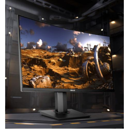"TUF Gaming VG32VQ 31.5"" WQHD Curved Screen LED Gaming LCD Monitor   16:9 Life-Style/500"