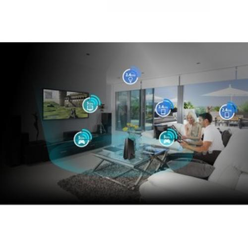 Asus RP AC1900 IEEE 802.11ac 1.86 Gbit/s Wireless Range Extender Life-Style/500