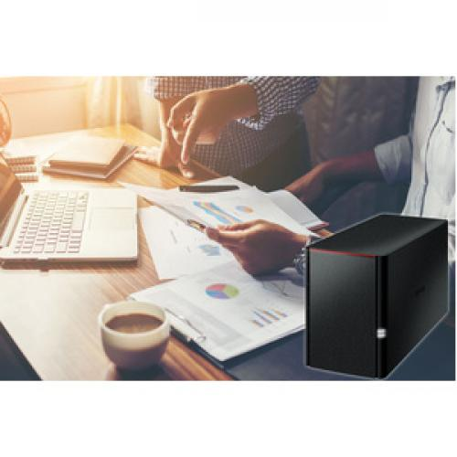 Buffalo LinkStation SoHo 2bay Desktop 4TB Hard Drives Included Life-Style/500