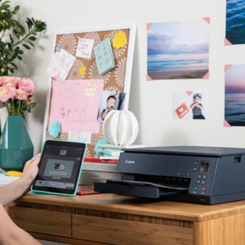 Canon PIXMA TS TS6320 Navy Inkjet Multifunction Printer   Color Life-Style/500