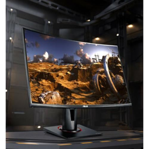 """TUF VG27VQ 27"""" Full HD Curved Screen LED Gaming LCD Monitor   16:9   Black Life-Style/500"""