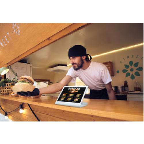 CTA Digital Rotating Theft Deterrent Kiosk Stand For IPad Pro 12.9 Gen. 3 Life-Style/500