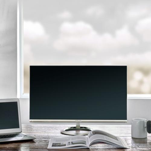 "Asus Designo MX27UCS 27"" 4K UHD LED LCD Monitor   16:9   Icicle Gold, Black Life-Style/500"