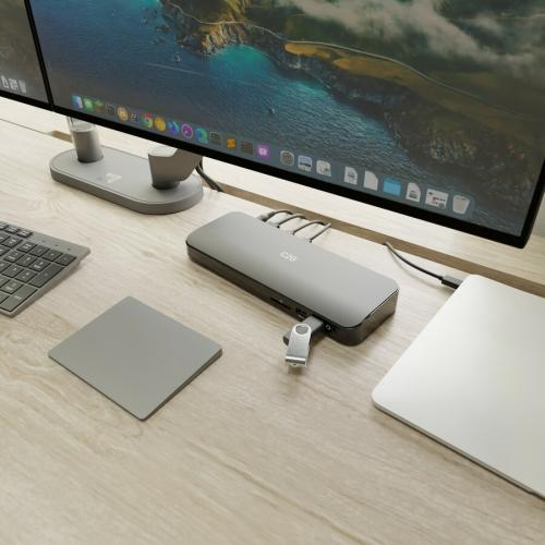 C2G USB C Dual Monitor Dock With Multiport & Power Delivery Up To 60W Life-Style/500