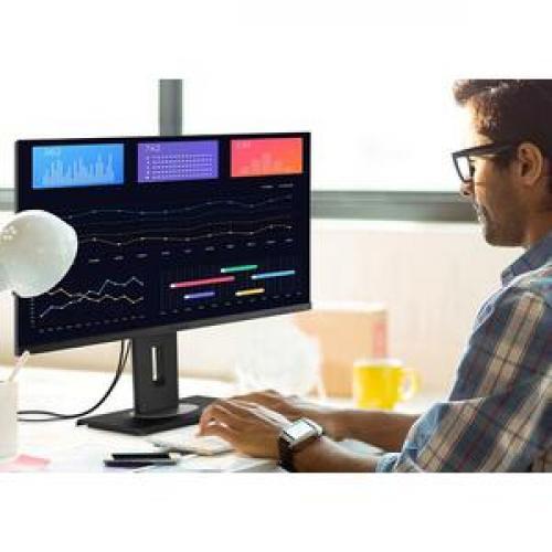 "Viewsonic VG2456 23.8"" Full HD WLED LCD Monitor   16:9   Black Life-Style/500"