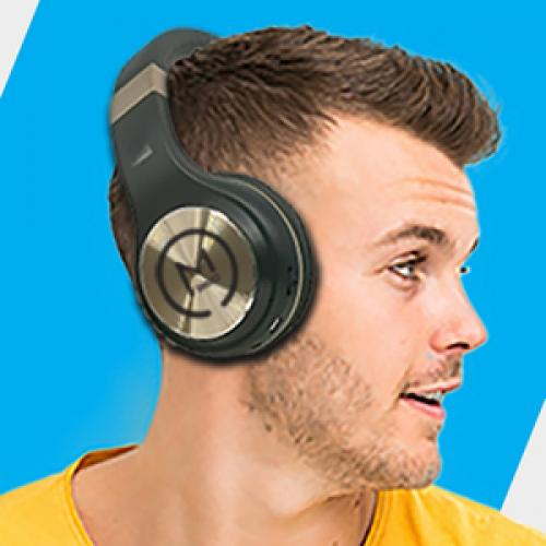 Morpheus 360 Serenity Wireless Over The Ear Headphones   Bluetooth 5.0 Headset With Microphone   HP5500G Life-Style/500