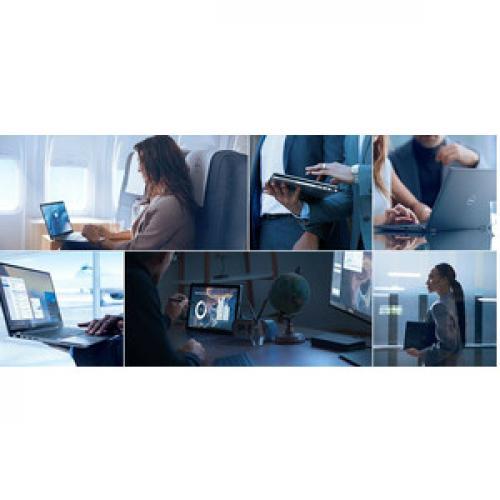 """Dell Latitude 9000 9410 14"""" Touchscreen 2 In 1 Notebook   1920 X 1280   Intel Core I5 (10th Gen) I5 10210U Quad Core (4 Core) 1.60 GHz   8 GB RAM   256 GB SSD   Anodized Titan Gray Life-Style/500"""