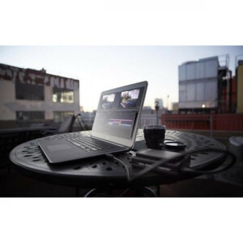"Dell Latitude 5000 5400 14"" Chromebook   HD   1366 X 768   Intel Celeron (8th Gen) 4305U Dual Core (2 Core)   4 GB RAM   128 GB SSD   Carbon Fiber Life-Style/500"