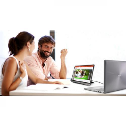 "Asus ZenScreen MB14AC 14"" Full HD LCD Monitor   16:9   Dark Gray Life-Style/500"