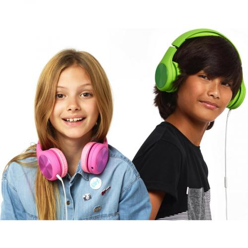 LilGadgets Connect+ Pro Wired Over Ear Headphones Designed For Kids Age 6+ Life-Style/500
