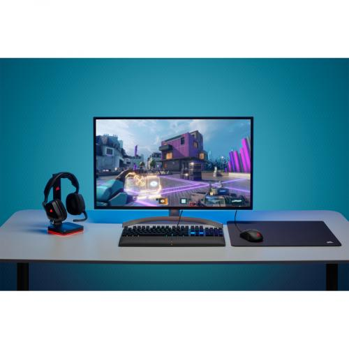 Corsair K60 RGB Pro SE Mechanical Gaming Keyboard   Cherry Viola   Black Life-Style/500