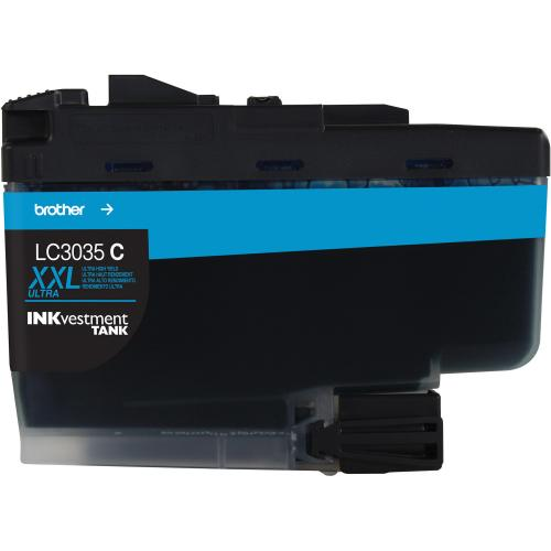 LC3035C CYAN INK CARTRIDGE F/ MFC J995DW MFC J995DWXL ULTRA HY Out-of-Package/500