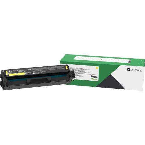 Lexmark Unison Original Toner Cartridge   Yellow Out-of-Package/500