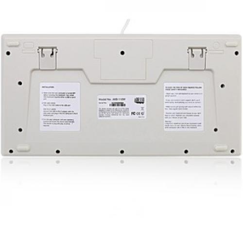 Adesso EasyTouch AKB 110W Mini Keyboard Rear/500