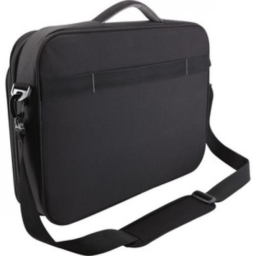 "Case Logic PNC 218Black Carrying Case (Briefcase) For 15"" To 18"" Notebook   Black Rear/500"