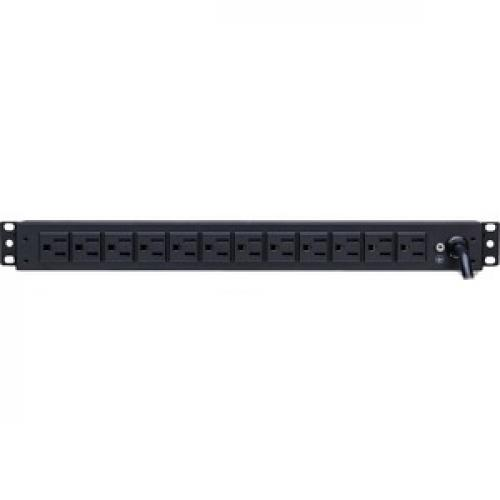 CyberPower Basic PDU15B12R 12 Outlets PDU Rear/500